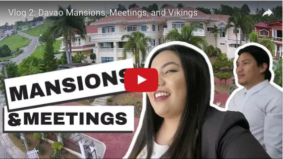 Vlog 2: Davao Mansions, Meetings, and Vikings