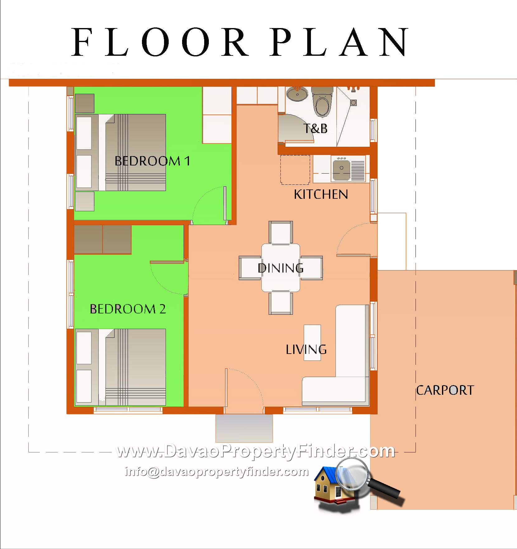 Simeona house in elenita heights park villas catalunan for Floor plan finder