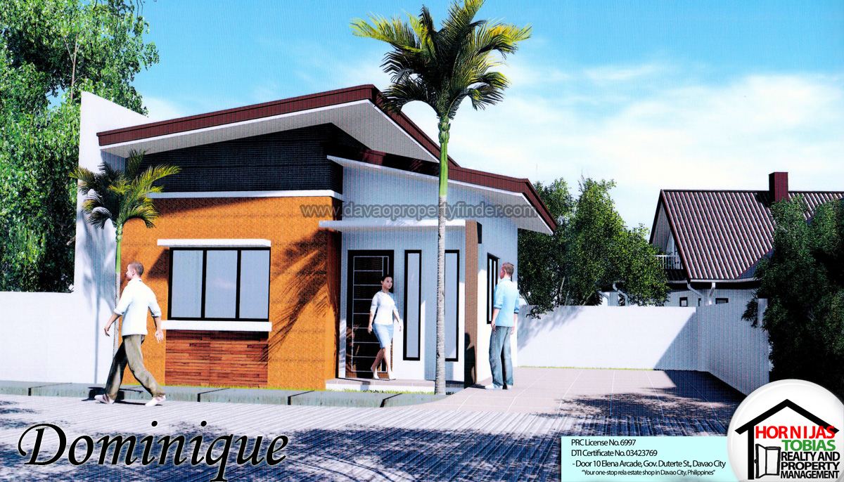 Dominique house cambridge heights subdivision davao for Subdivision home designs