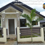 Front view of Ken House at Granville Subdivision, Catalunan Pequeño, Davao City
