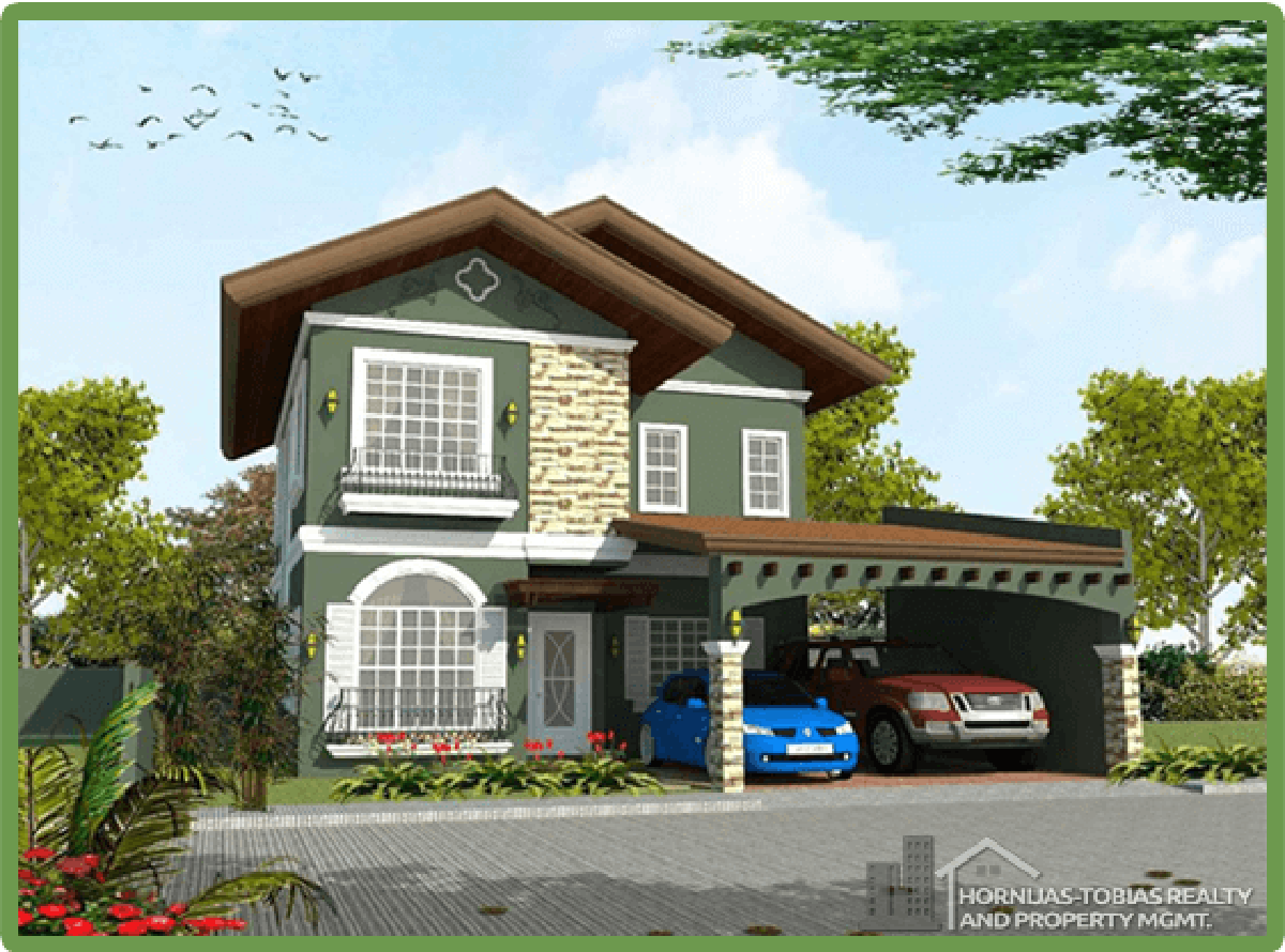Loridana House in The Gardens at South Ridge, Catigan, Toril, Davao